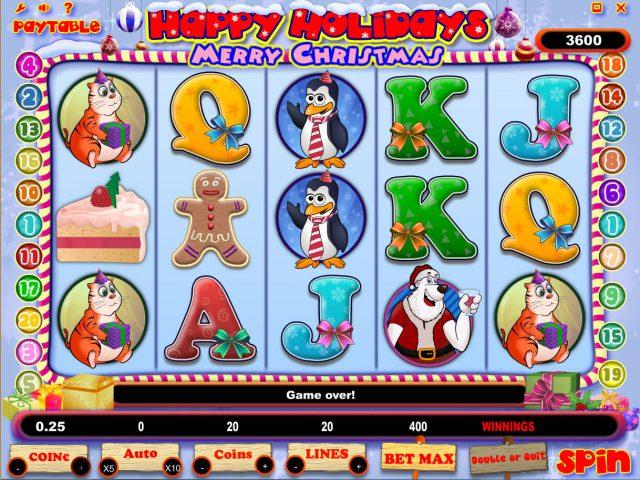 Игровой автомат Happy Holidays в Вулкан Делюкс