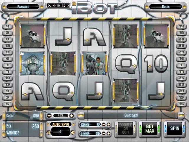 Игровой автомат iBot в онлайн казино Азимут 777