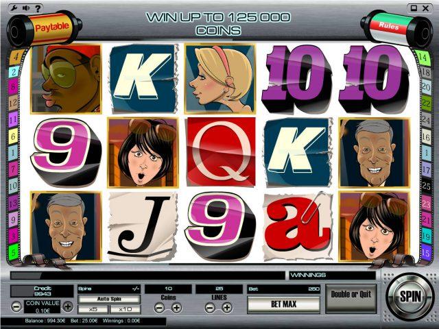 Игровой автомат Paparazzi в казино Вулкан Платинум