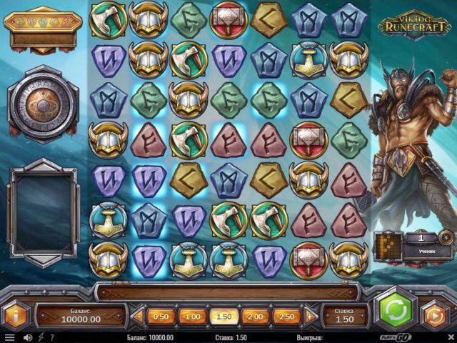 Игровой автомат Viking Runecraft в казино Вулкан Старс