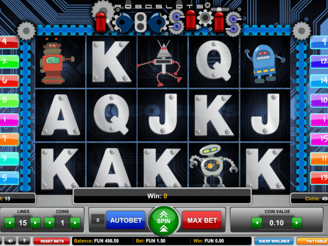 Roboslots на сайте игровых автоматов Вулкан Гранд