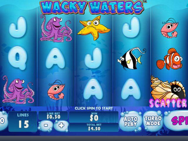 Игровые автоматы Джойказино: Wacky Waters
