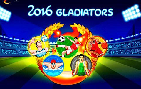 Игровой автомат на рубли 2016 Gladiators в казино Вулкан — Обзор