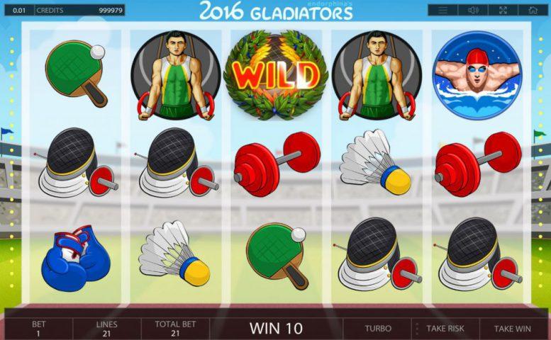 Игровой автомат 2016 Gladiators в казино Вулкан