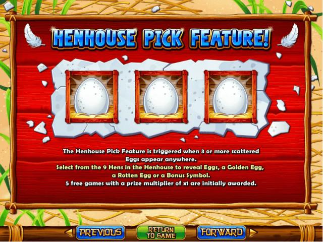 Правила игры в слот Hen House