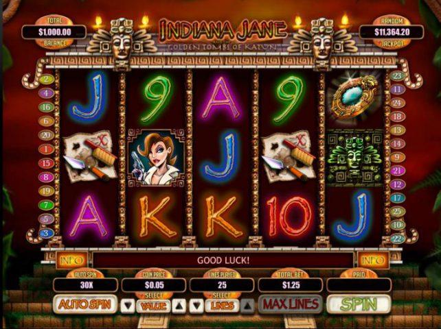 Cлот Indiana Jane в Maxbetslots казино