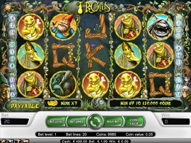 Cлот Trolls на сайте игровых автоматов Вулкан Старс