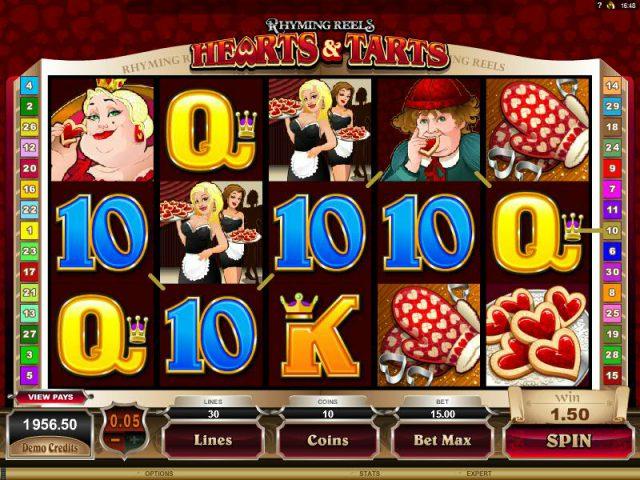 Творческий игровой аппарат Rhyming Reels в казино Вулкан