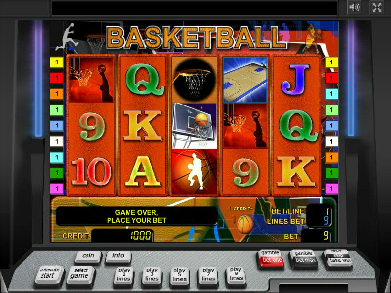 Слот Basketball в Биткоин казино