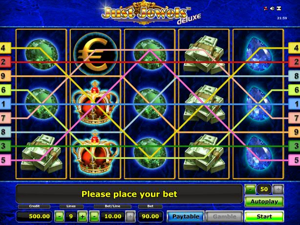 Игровой автомат 777 Just Jewels