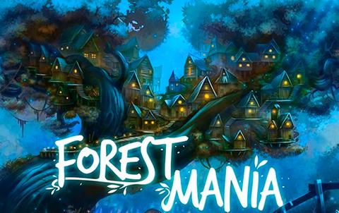 Игровой аппарат на деньги Forest Mania с забавными персонажами на барабанах