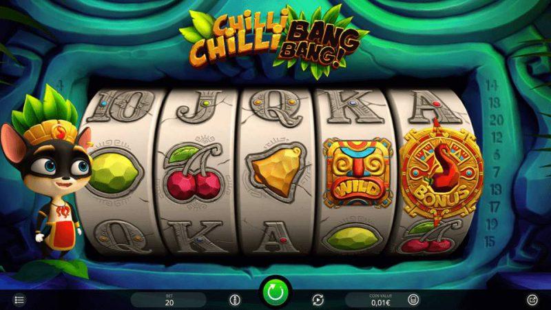 Слот Chilli Chilli Bang Bang в казино Champion