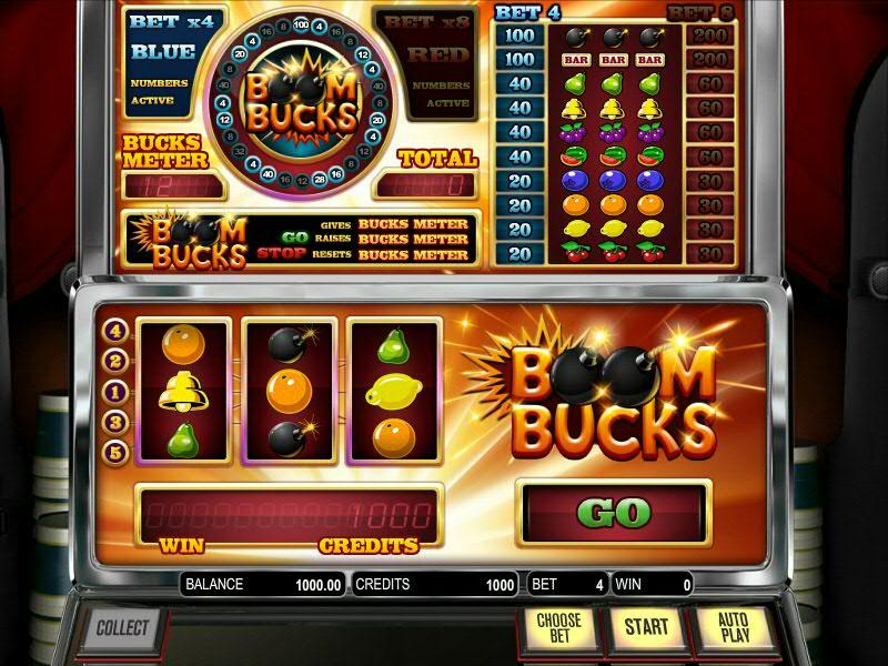 Cлот Boom Bucksот от БетСофт