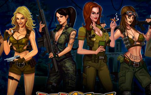 Динамичный игровой аппарат Девушки с Оружием в казино Фараон — Обзор