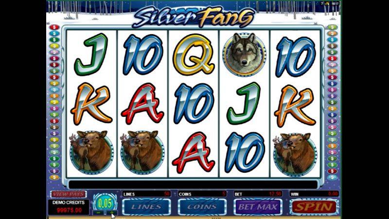 Слот Silver Fang в онлайн казино Вулкан Россия
