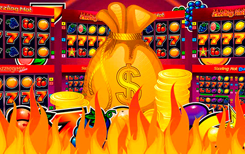 Слот Hotter than Hot на 5 барабанах в онлайн казино Azino888