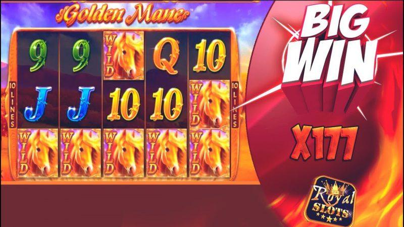 Слот Golden Mane на официальном сайте казино Azino777