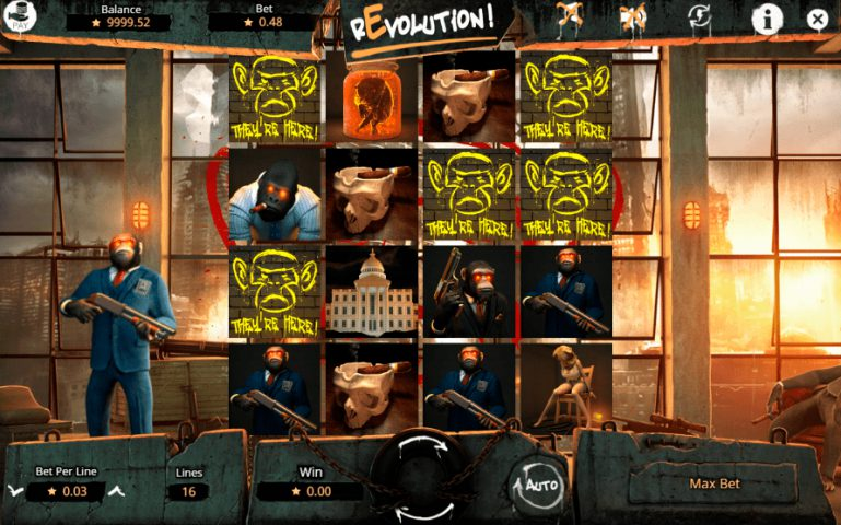 Слот Revolution на официальном сайте Азино777