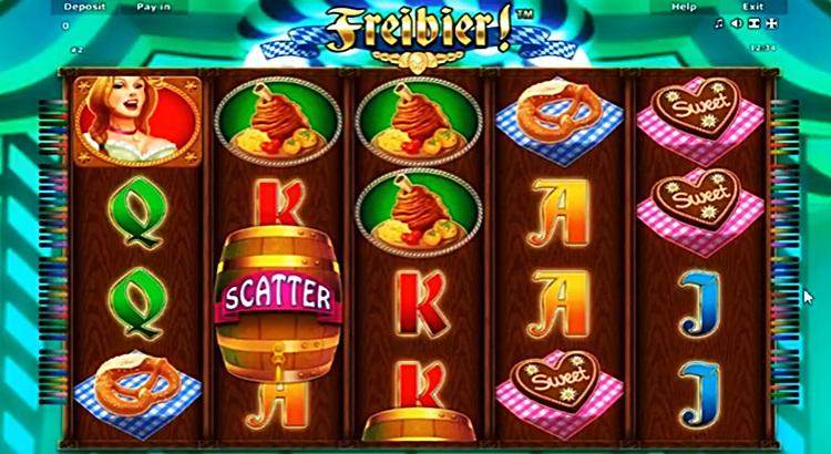 Игровой автомат Freibier в казино Чемпион