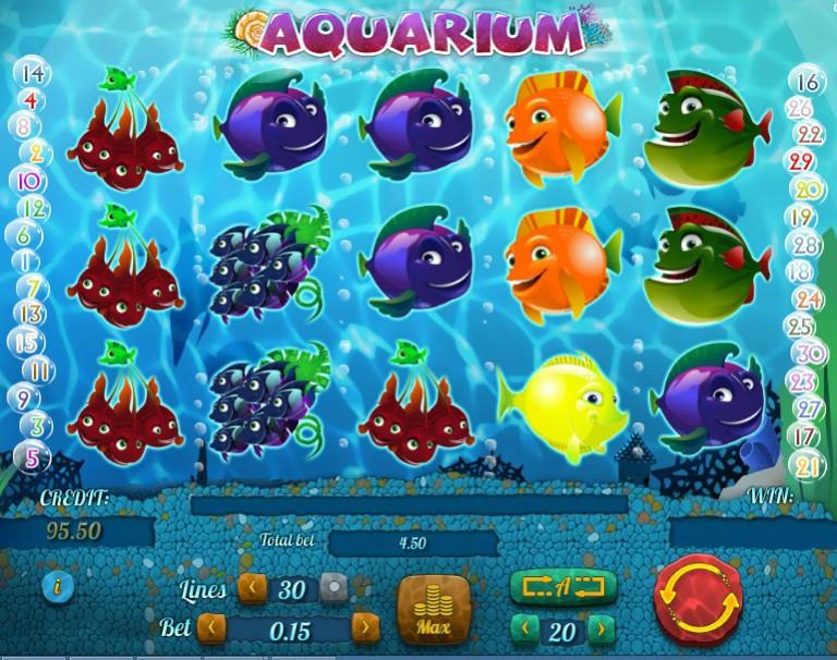 Слот Aquarium в казино Joy Casino