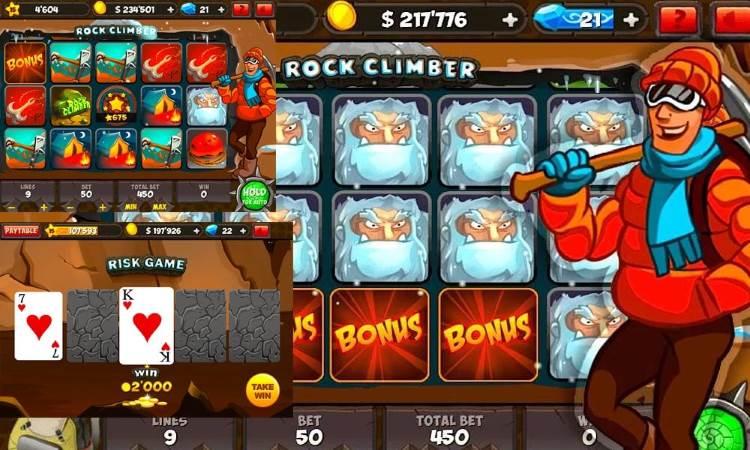 Слот Rock Climbe в онлайн клубе Азино 777