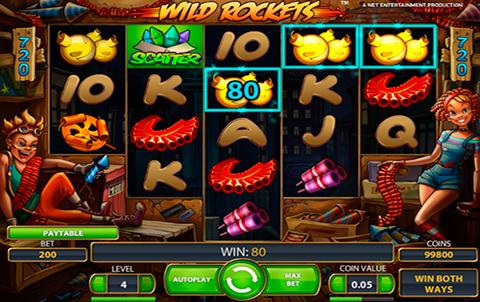 Игра Wild Rockets в онлайн казино. Тебе нужные деньги? Бери...