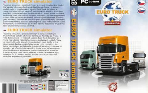 Скачать Euro Truck Simulator 2008 (С грузом по Европе)