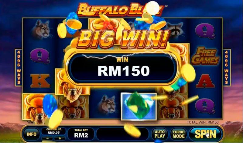 Buffalo игровой автомат в казино Вулкан Удачи