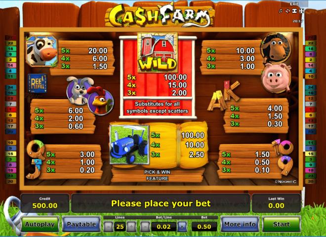 Cash Farm игровой автомат в клубе Азино555
