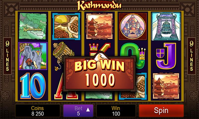 Игровой автомат Kathmandu в казино Максбет