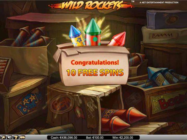 Игра Wild Rockets в онлайн казино