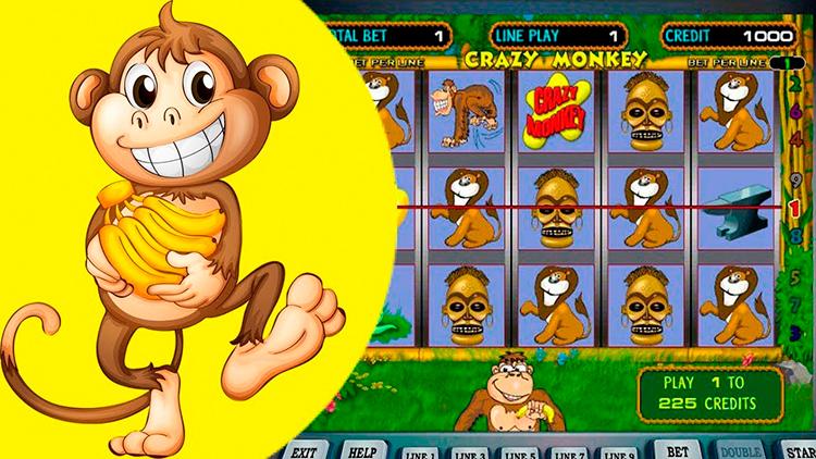 Слот Crazy Monkey в онлайн казино Вулкан