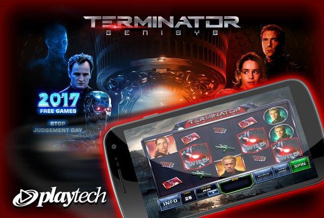 Слот Terminator Genisys от Playtech в casino Vulkan Pobeda