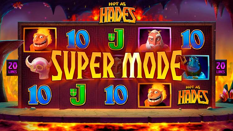 Слот Hot as Haders в Казино Super Slots