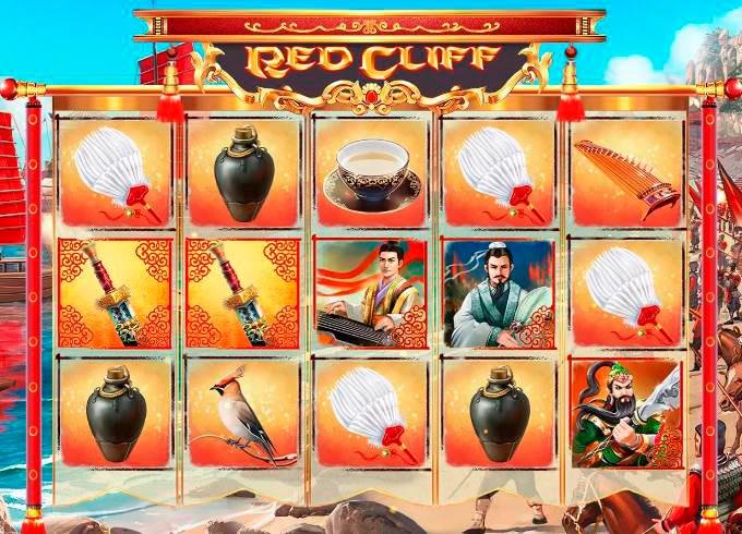 Игровой автомат Red Cliff на официальном сайте казино Вулкан