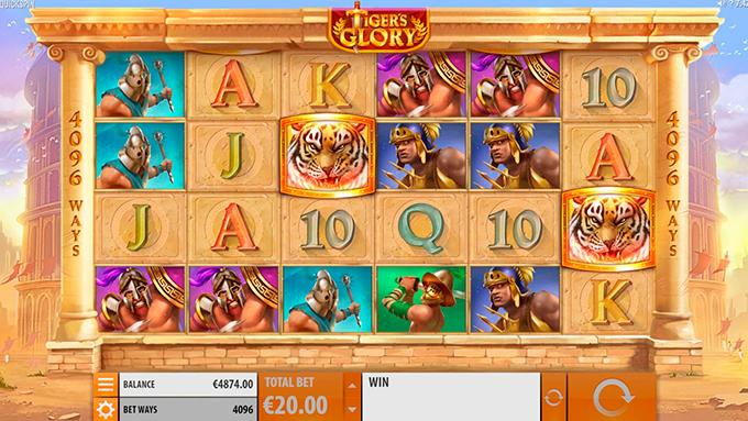 Обзор игрового автомата Tiger's Glory в Чемпион казино