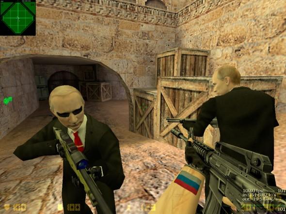 Скачать Counter Strike 1.6 от Путина