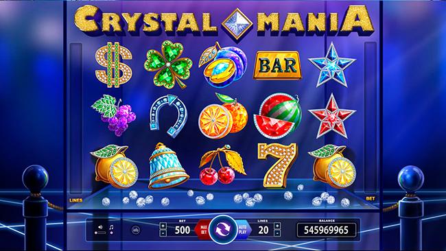 Классика игровых автоматов Crystal Mania от BF Games