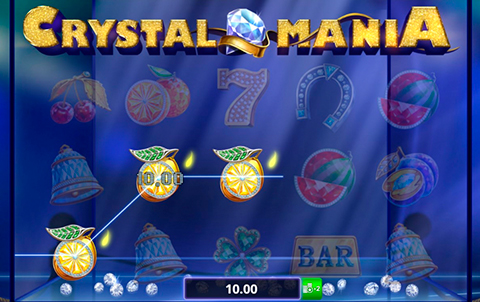 Классика игровых автоматов Crystal Mania от BF Games на сайте slotokub.ru