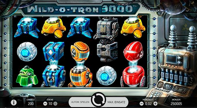 Слот Wild O Tron 3000 на сайте казино Вулкан 24