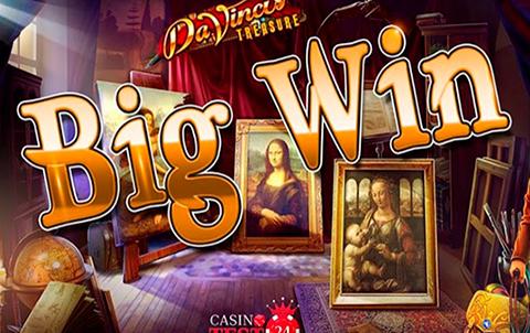 Da Vinci Treasure в ПМ Казино игровые автоматы онлайн на реальные деньги Украина