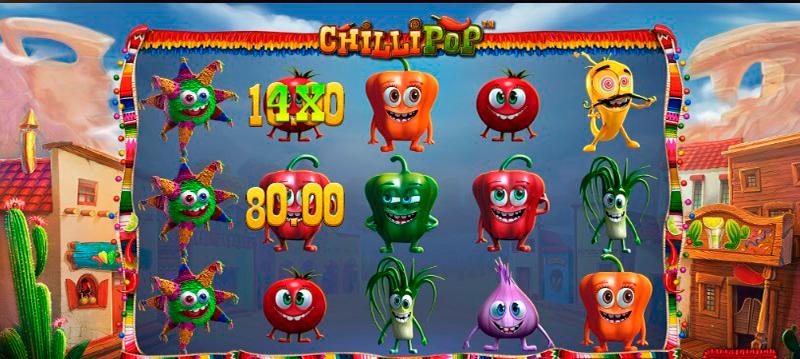 Игровой автомат Chilli Pop вдохновленный мексиканской культурой