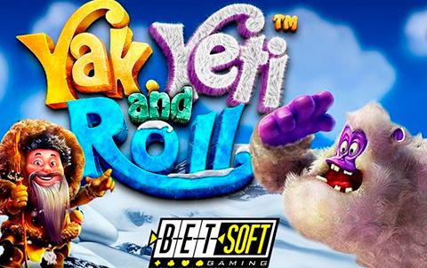 Игровой автомат от Betsoft Yak, Yeti and Roll