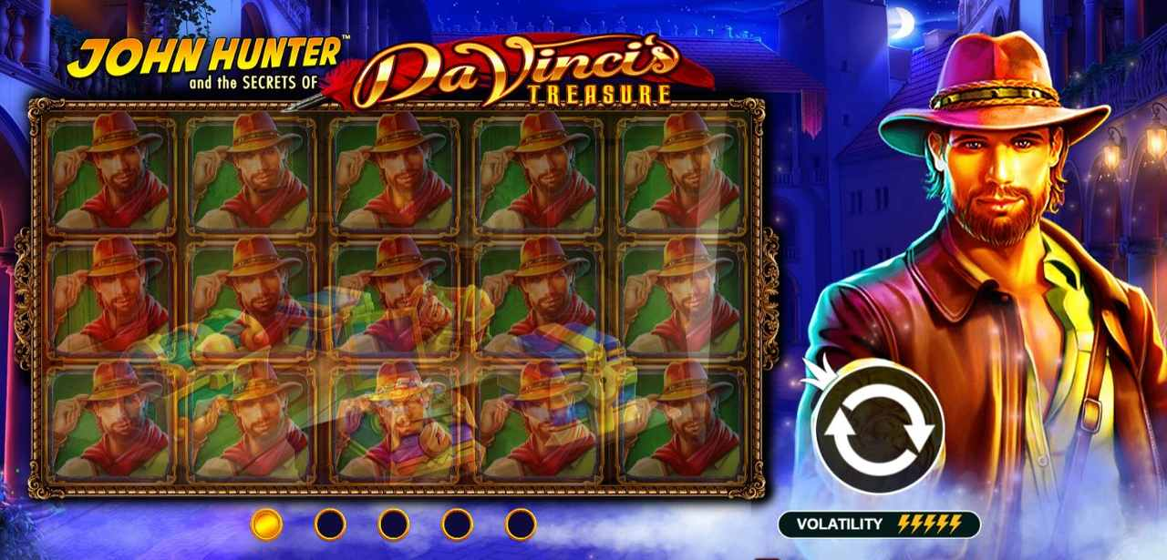 Da Vinci Treasure в ПМ Казино игровые автоматы