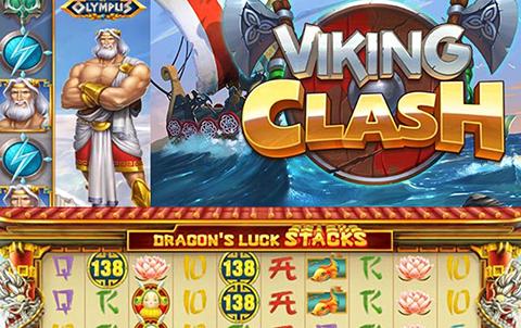 Викинги готовятся к кровавой битве в слоте Viking Clash на сайте ПМ Казино