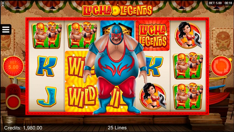 Слот Lucha Legends в казино Faraon 24
