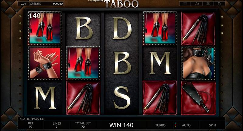 Слот Taboo в казино Vulkan