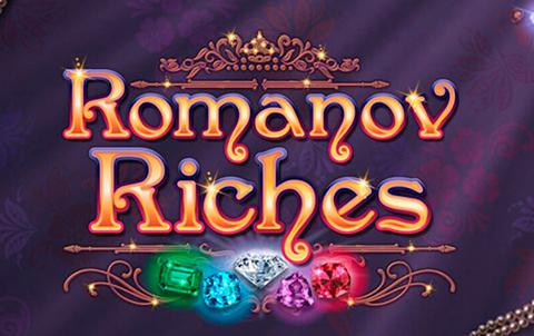 Игровой автомат с драгоценными камнями Romanov Riches