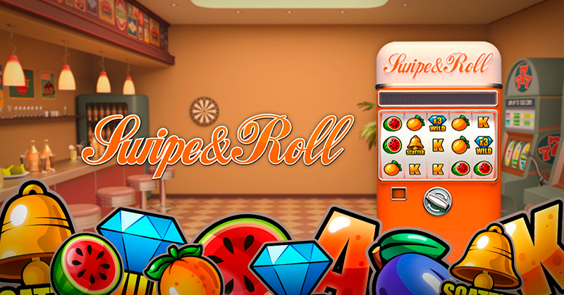 Swipe and Roll - игровой автомат в казино Вулкан