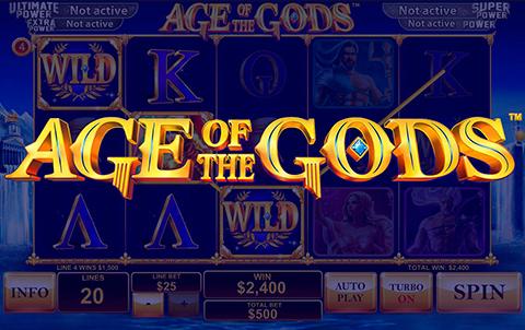 Боги одарят вас победой в игровом автомате Age of Gods на сайте казино Вулкан Старс